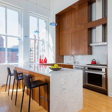 Urban Kitchen Remodel in Penn Quarter