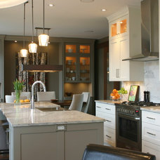 Transitional Kitchen by Susan Orfald