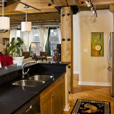 Eclectic Kitchen by Designing Edge
