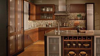 Urban Loft Living Kitchen by Dura Supreme Cabinetry