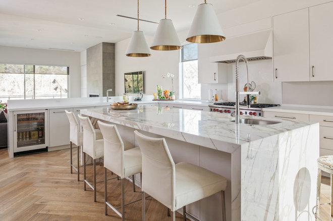 Contemporary Kitchen by Poet Interiors
