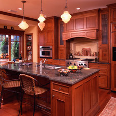 Traditional Kitchen by Vujovich Design Build, Inc.
