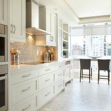 Transitional Kitchen by Parkyn Design