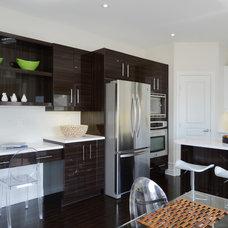 Contemporary Kitchen by Darren Walker - Kitchen Craft
