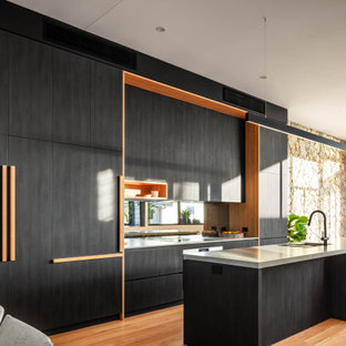 Photo of a contemporary kitchen in Wollongong.