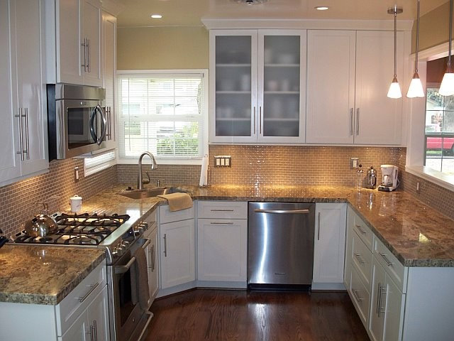 charming Remodelled Kitchens Before And After #6: Traditional Kitchen User Before/After