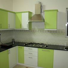 Eclectic Kitchen User Before/After