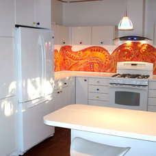 Eclectic Kitchen User BIG Before/After Kitchens