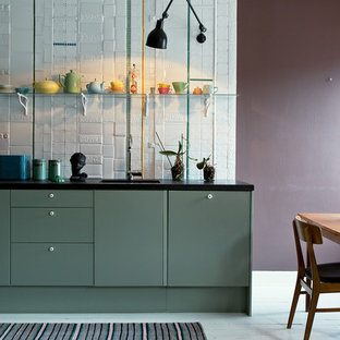 Eclectic kitchen in Stockholm.