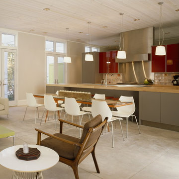 Vacation home, kitchen