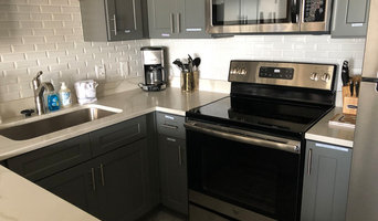 Vacation Rental Kitchen Backsplash White Subway Tile