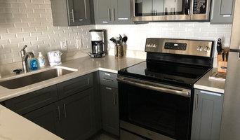 Vacation Rental Kitchen Backsplash White Subway Tile