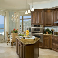 Traditional Kitchen by Marc-Michaels Interior Design