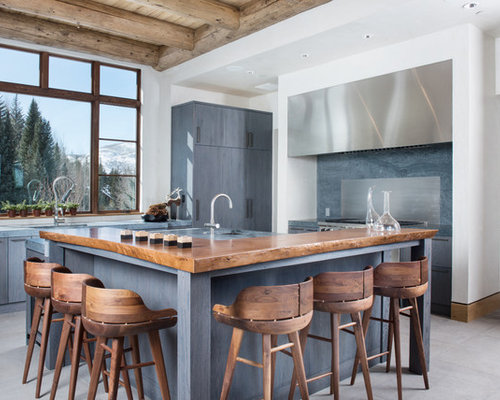 11 Best Rustic Kitchen With Blue Cabinets Ideas Designs