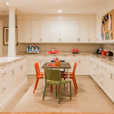 Transitional Kitchen by Jill Litner Kaplan Interiors