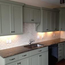 Transitional Kitchen by Valley Elegance Kitchen & Bath