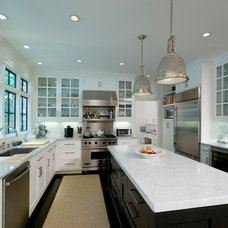 contemporary kitchen by Woodworks Design