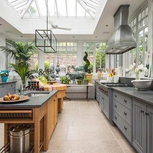 75 Beautiful Farmhouse Kitchen With Window Backsplash Pictures Ideas January 2021 Houzz