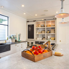 Eclectic Kitchen by thea home inc