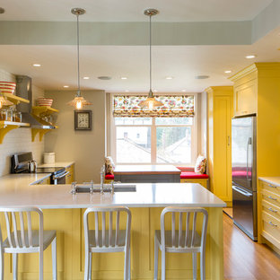 Vancouver, Kitchen Renovation with a Mix of Modern Shaker & Traditional Style