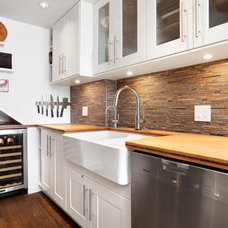 Transitional Kitchen by Alair Homes Vancouver