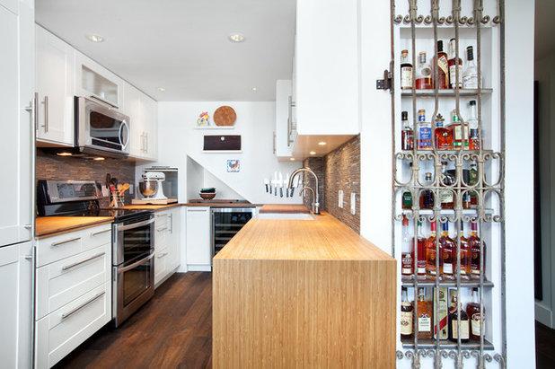 トランジショナル キッチン by Alair Homes Vancouver