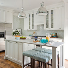 transitional kitchen by Stephani Buchman Photography