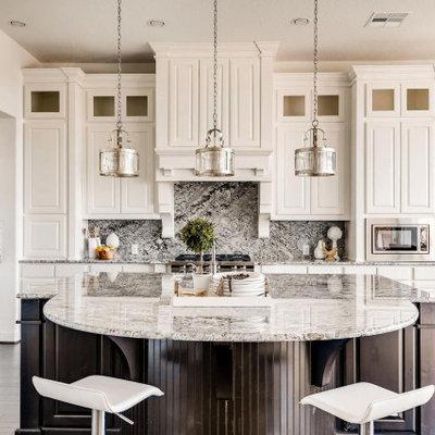 Kitchen - transitional kitchen idea in Austin