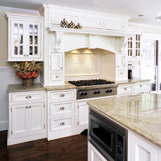 Traditional Kitchen by C&S Marble & Granite