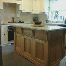 Traditional Kitchen by Heirloom designs custom furniture