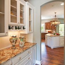 Transitional Kitchen by Granite Pro, Inc.