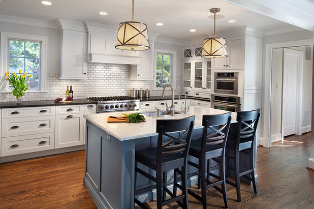 Perfect Transitional Kitchen by General Woodcraft Inc