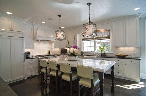 Contemporary Kitchen by Carolina Design Associates, LLC