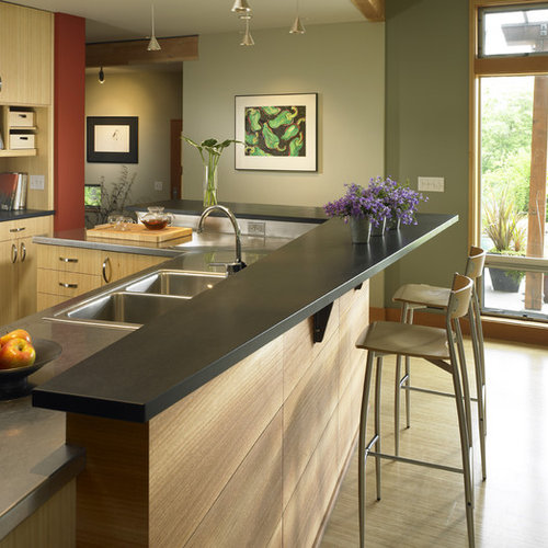 Discount Kitchen Cabinets Seattle: Paperstone Countertops