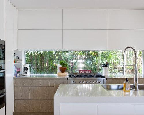 Glass Window Splashback Home Design Ideas Renovations Photos