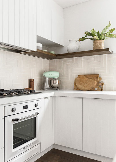 Beach Style Kitchen by Blakes Of Sydney