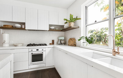 Renovation Education: A White-on-White Cool Coastal Kitchen