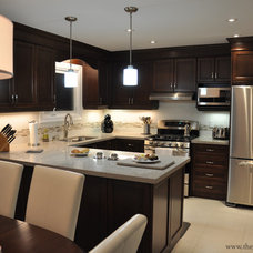 Contemporary Kitchen by The Gatti Group Corp.