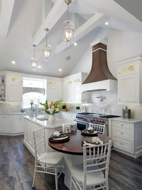 vaulted ceiling kitchen houzz. Black Bedroom Furniture Sets. Home Design Ideas