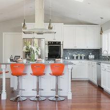 Transitional Kitchen by Michele Dugan Design, LLC