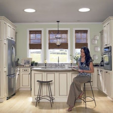 Contemporary Kitchen by Lindus Construction/Midwest LeafGuard