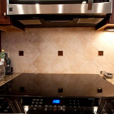 Transitional Kitchen by Fireplace & Granite Distributors