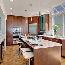 Contemporary Kitchen by Amato Design Inc.