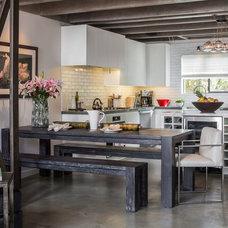 Contemporary Kitchen by Amy DeVault Interior Design
