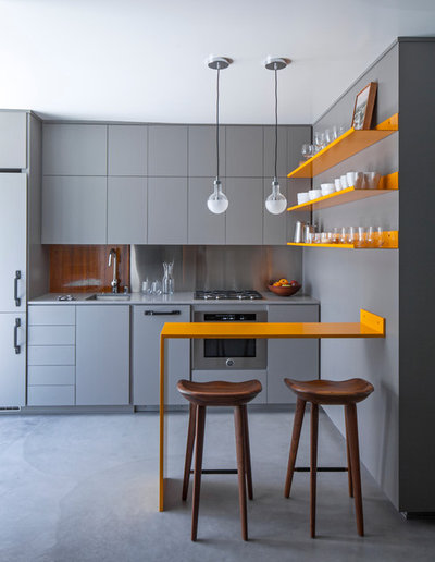 Contemporary Kitchen by Vertebrae Architecture