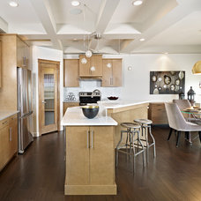 Contemporary Kitchen by Parkwood Master Builder