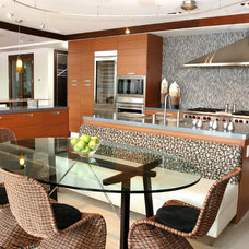 Contemporary Kitchen by B Pila Design Studio