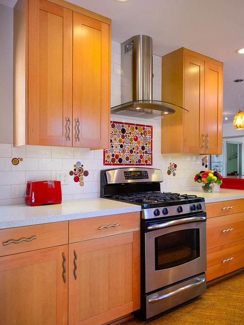 Galley Kitchen Design Ideas Renovations Photos With Cork Flooring