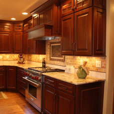 Traditional Kitchen by Renovations Group Inc