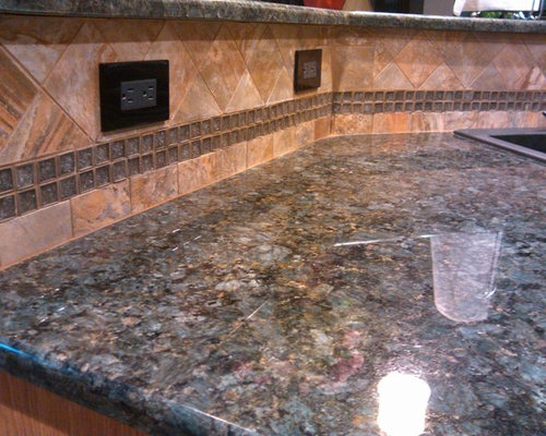 Verde Peacock Granite Houzz